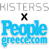 people greece kiss