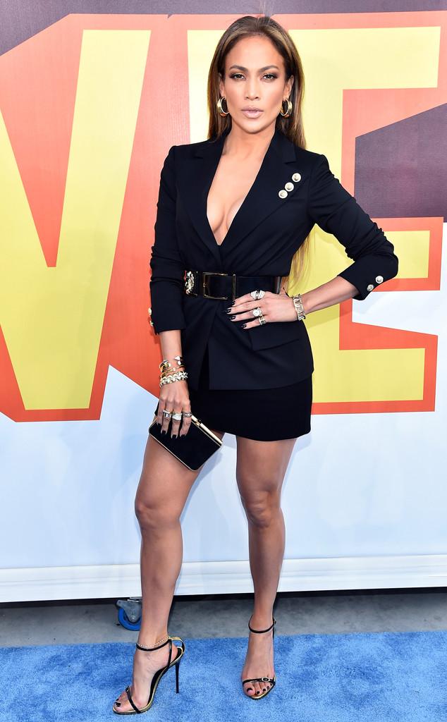 J.Lo in Versace.